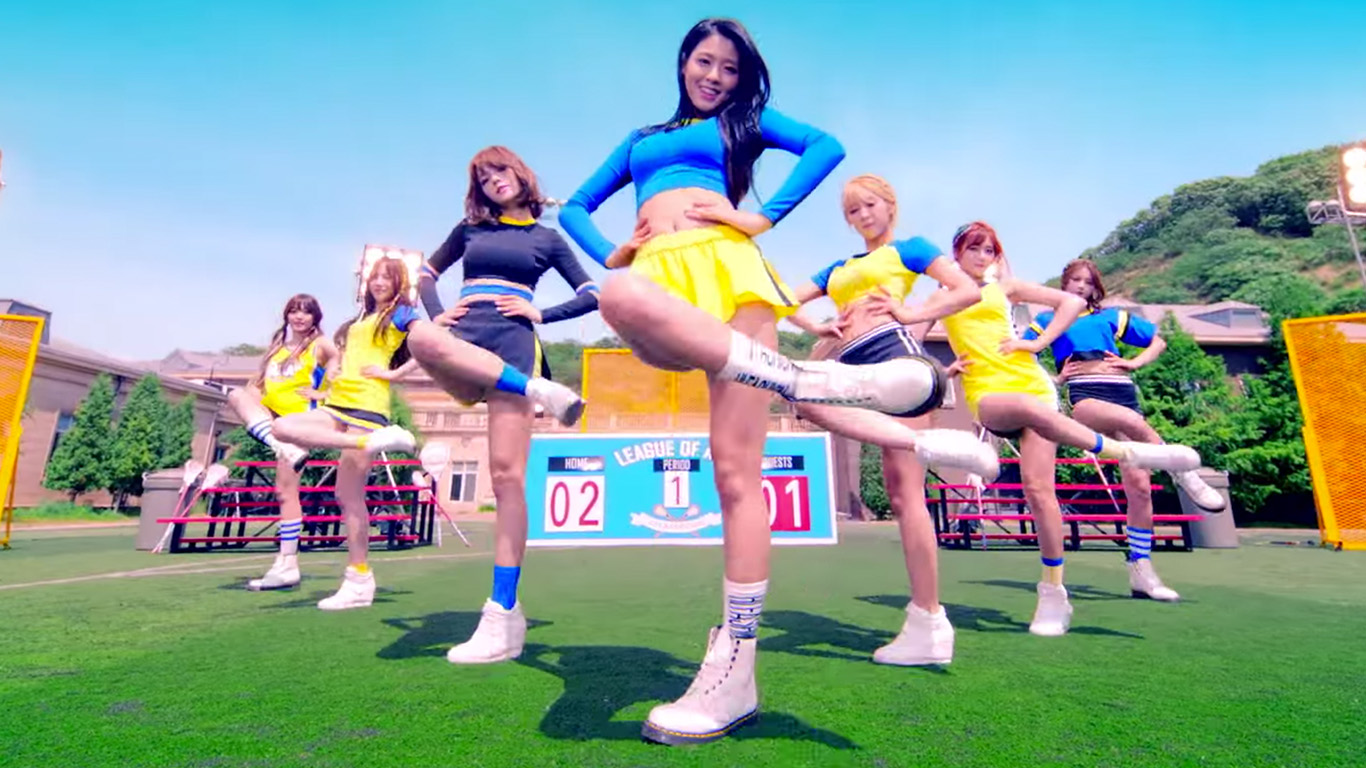 AOA: 'Heart Attack' Music Video Review