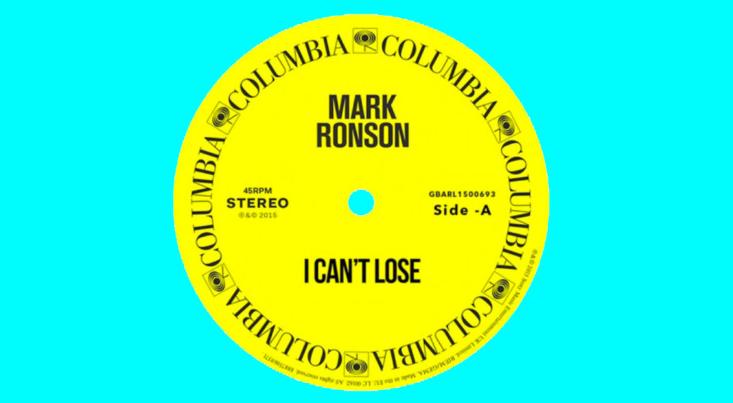 Mark Ronson ft. Keyone Starr: 'I Can't Lose' Single Review