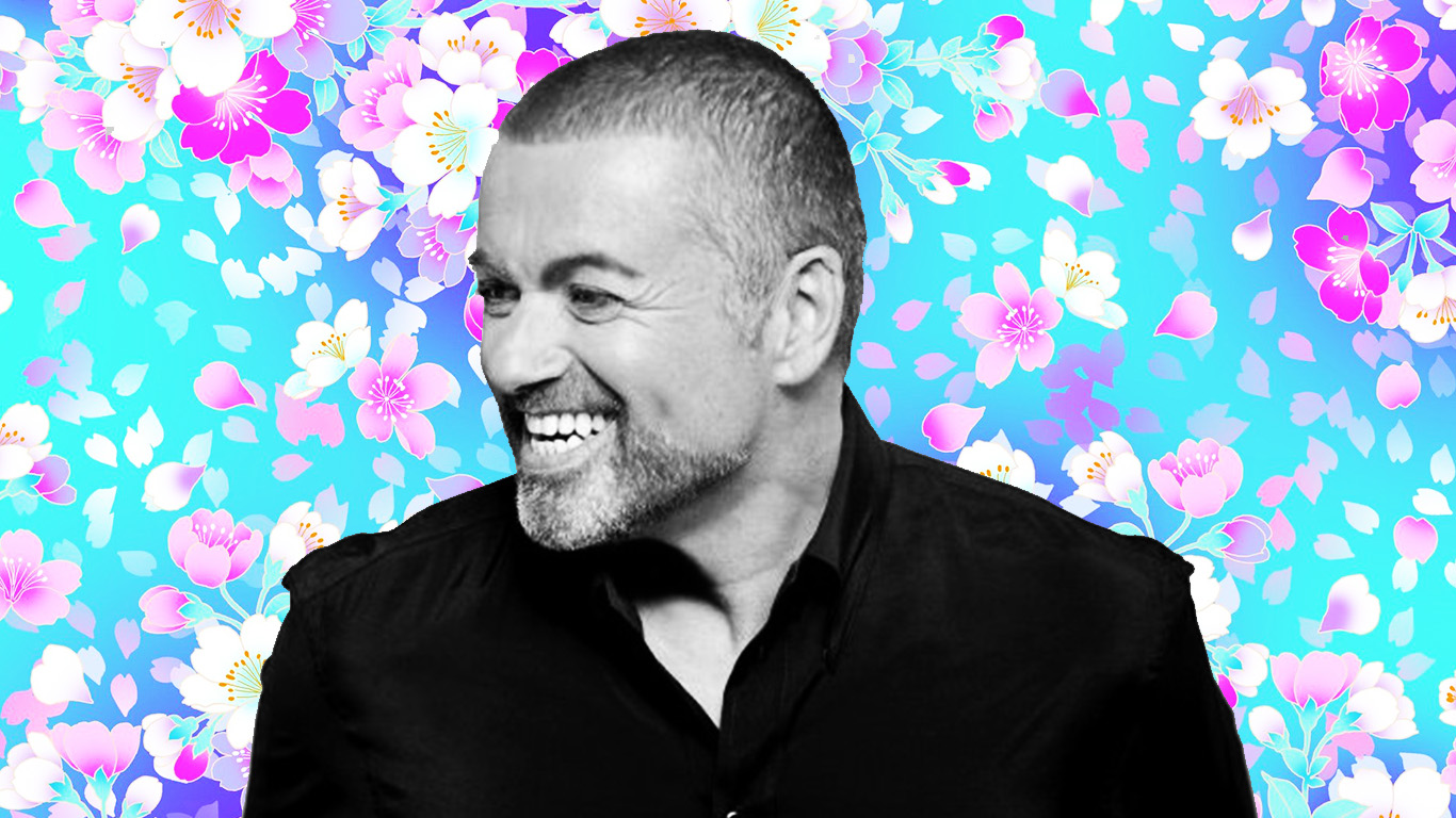 georgemichael.com / PPcorn art
