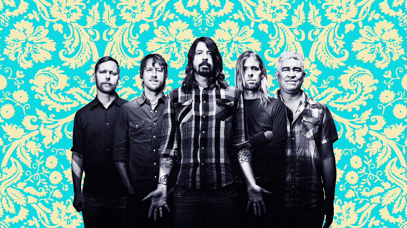 facebook.com/foofighters / PPcorn art