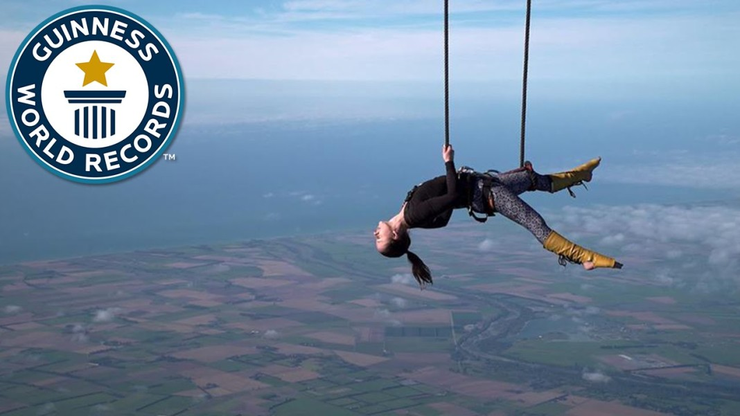 Guinness Announces Highest Static Trapeze Act