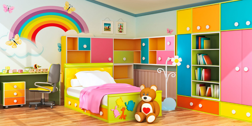 10 Great Ways to Theme your Child's Bedroom