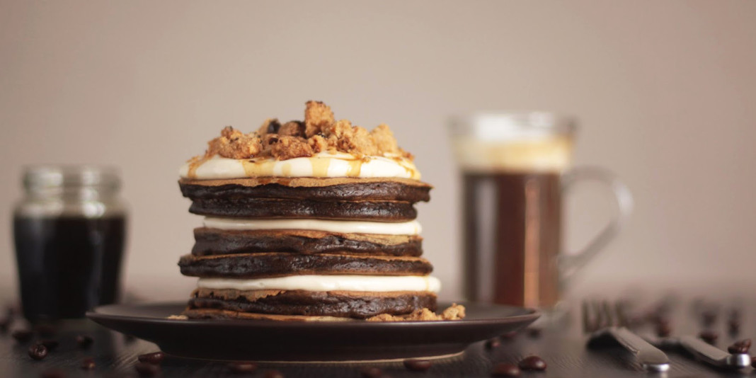 Tasty Pancake Recipe with Espresso Syrup